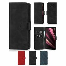 Wallet PU Leather Case Cover For Sony Xperia 1/10/10 Plus/L3/XZ3/XZ2 Premium