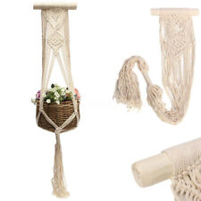 40'' Vintage Macrame Plant Hanger Flower Pot Holder String Hanging Rope Wall Art