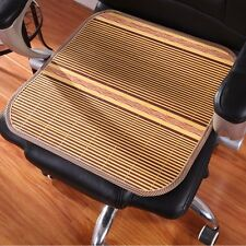 Double Sided Cool Natural Bamboo Mat Seat Cover Car Home Office Chair Cushion