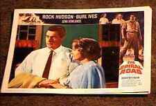 SPIRAL ROAD 1962 LOBBY CARD #2 ROCK HUDSON