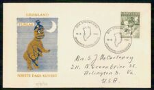 Mayfairstamps Greenland Fdc 1961 Cover Tupilak Forste Dags Kuvert wwk41067