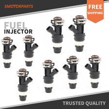 Set(8) 60lb Fuel Injectors for GM 4.8L 5.3L 6.0L Engine 01-07 Non Flex Fuel
