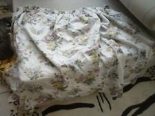 "Pair of Laura Ashley material Vintage floral quality curtains  pretty 41""l 66""w"