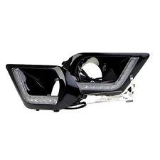 2013 2014 2015 For Subaru Forester DRL Front Fog Light Daytime Running Lamp 2pcs