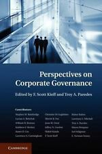 Perspectives on Corporate Governance (2013, Paperback)