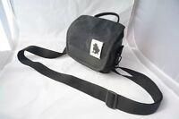 Black messenger canvas bag case for Fujifilm X-T3 X-A5 X-A20 XT3 XA5 XA20