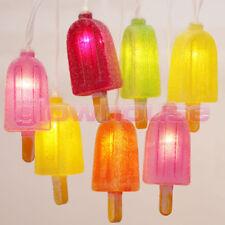 ICE Lolly Popsicle Luces Cuerda LED Batería Luces Navideñas