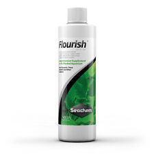 Seachem Flourish 100ml 250ml 500ml Live Aquatic Plant Food Nutrients Elements