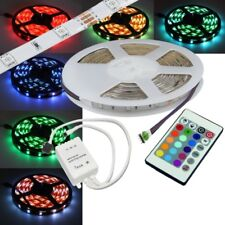 (11,98€/m) 5 Meter RGB SMD Led Leiste SET flexibel Strip / 5 m komplett Set