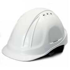 DeltaPlus Breathability Anti Shock Anti Smashing Hard Hat Safety Helmet White
