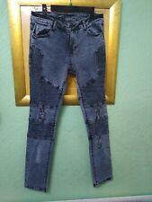 Systvm Men's Blue Biker Jeans Size 31R