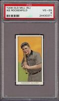 Rare 1909-11 T206 Ike Rockenfeld Old Mill Southern League Montgomery PSA 4 VG-EX
