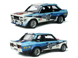 1/12 Ottomobile Fiat 131 abarth Röhrl Walter Mounted Carlo 1980 Champion Of Cup