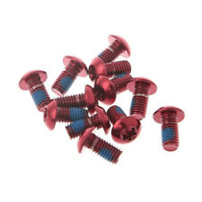 12Pcs Alloy Steel M5 x10mm Screws Torx T25 Head  Disc Brake Rotor Bolts