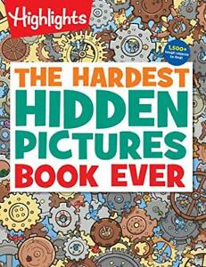 The Hardest Hidden Pictures Book Ever Highlights Hidden Pictures