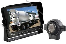 """9"""" REAR VIEW BACKUP SIDE CAMERA SYSTEM CCTV FOR HEAVY TRUCK, MOTORHOME, FORKLIFT"""