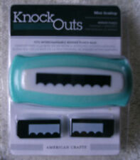 "American Crafts Knock Outs Border Punch - ""Mini Scallop"" ~ *NEW"