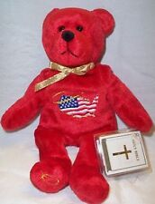 Holy Bears Allegiance The God Bless America Bear NWT