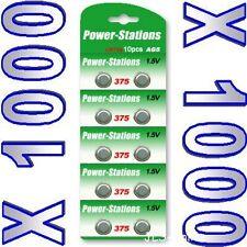 1000  Alkaline 1.5V Button Cell Batteries AG5 LR48 393
