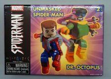 UNMASKED SPIDER-MAN & DR. OCTOPUS minimates MARVEL NEW mini mates diamond select