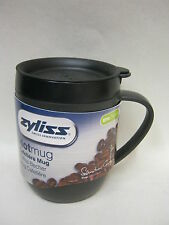 New DKB Zyliss Smart Cafe Hot Mug Cup Coffee Cafetiere Graphite Grey