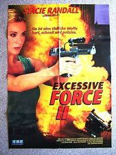 Affiche de Film / Poster Excessive Force II -stacie Randall