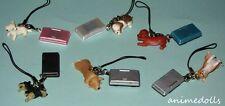 Yujin Miniature Nintendo DS Mascot Nintendogs Full Set of 6 VHTF RARE Re-ment