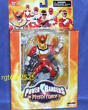 "Power Rangers MYSTIC FORCE Red Power Ranger New 6.5"" with Stand"