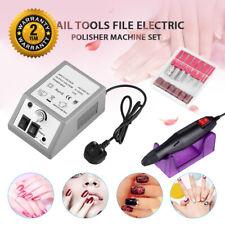 20000RPM Electric Nail Drill Machine Art File Bits Pedicure Manicure Gel Nails