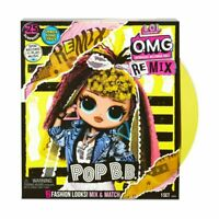 L.O.L Surprise OMG Remix Pop B.B Musical Pop Star Girls High Fashion Doll Toy LF