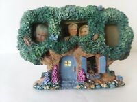 """4 Picture Tree House Picture Frame 2 1/2"""" x 1 1/4"""""""