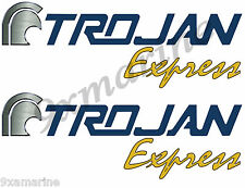 Two Trojan Boat Remastered Stickers-Express