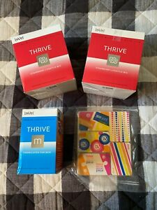 Thrive Le-Vel Strawberry Shakes, Mens Capsules and Duo Burn Patches