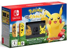 Nintendo SWITCH Console + Pokemon Let's GO Pikachu + Pokeball Plus Bundle