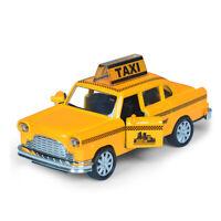New York Taxi 1:36 Die Cast Modellauto Spielzeug Model Sammlung Kinder Gelb