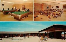Sun City Arizona~Apollo Mobile Home Park~Billiards Room~Shooting Pool~1970s PC