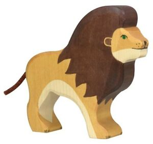 HOLZTIGER 80139: Lion, Collectable Wooden Toy NEW