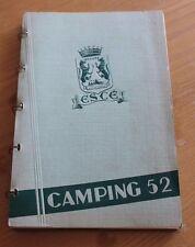 ancien catalogue escé tout pour le camping 1952