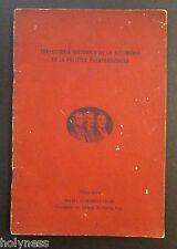VINTAGE BOOK / DISCURSO RAFAEL HERNANDEZ COLON / PUERTO RICO / 1970