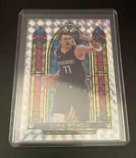 2019-2020 Panini Mosaic Basketball Luka Doncic Stained Glass Mosaic Ssp