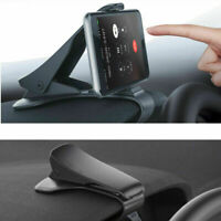 Universal Clip Car HUD GPS Dashboard Mount All Cell Phone Holder Non-slip Stand