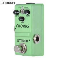ammoon Nano Series Guitar Effect Pedal Analog Chorus True Bypass Alloy Body M0D9