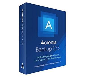 Acronis Backup 12.5 Virtual Host (V2PYBPDES), AAP, DE, PC, Box, 4260019575227