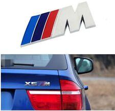 BMW M LOGO  Car M Power Performance Badge Fender Sticker ABS