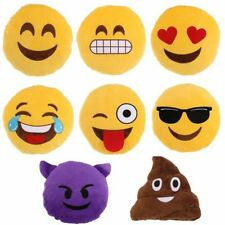 Emojis & Smileys Round Decorative Cushions