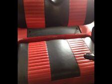 AN EZ-GO TXT 2- STRIPE GOLF CART CUSTOM VINYL SEAT COVER SET !