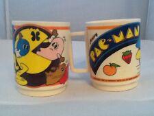 Vintage Deka Pacman Cup set of Two
