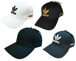 Brand New Original Adidas Classic Baseball Cap Hat - Trefoil Logo - Free P & P