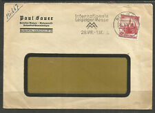 GERMANY. 1938. COVER. BERLIN. PAUL SAUER – ROLLER COATING FOR PRINTING.