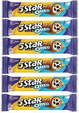 A Delicious Cadbury 5 Star Oreo Combination Of Chocolate Bar 42 Gram Set Of 6